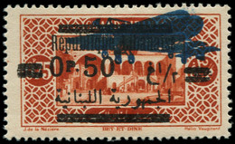 * GRAND LIBAN - Poste Aérienne - 38b, Double Surcharge - Airmail