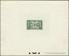 EPL GRAND LIBAN - Taxe - 35, épreuve De Luxe: 10p. Vert - Unclassified