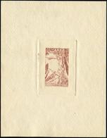 EPA GUYANE - Poste Aérienne - 25, épreuve D'artiste En Brun: Arc - Unused Stamps