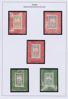 EPA GUYANE - Taxe - 13/21, Exceptionnelle Collection De 53 épreuves Des Poinçons Avec Ou Sans Faciale Tous Différents (E - Unclassified