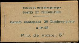 ** HAUT SENEGAL & NIGER - Carnets - Maury 1, Crnaet Complet, Rousseurs Habituelles - Neufs