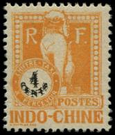 ** INDOCHINE - Taxe - 36a, Double Impression De La Valeur, Signé Calves (Maury) - Postage Due