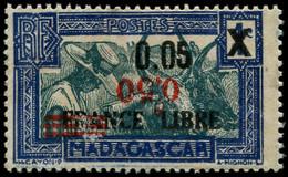 "* MADAGASCAR - Poste - 241, Chiffres ""0,50"" Renversés, Toujours Gomme Moyenne: Attelage Zébus (Maury) - Neufs"