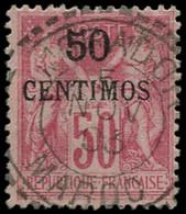 O MAROC - Poste - 6A, Oblitéré  5/11/03: 50c. S. 50c. Rose - Used Stamps