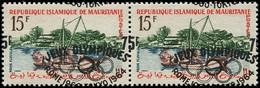 ** MAURITANIE - Poste - 154c, En Paire Surcharge à Cheval: Jeux Olympiques De 1964 - Neufs
