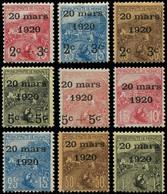** MONACO - Poste - 34/42, Mariage De La Princesse Charlotte - Unused Stamps