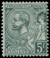 * MONACO - Poste - 47a, Signé: 5f. Vert-gris Clair - Unused Stamps