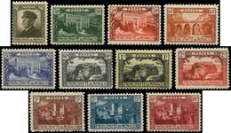 ** MONACO - Poste - 54/64, Complet 11 Valeurs - Unused Stamps