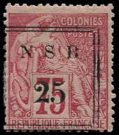 * NOSSI-BE - Poste - 17, Signé Scheller: 25 S. 75c. Rose - Unused Stamps