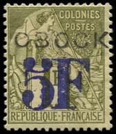 * OBOCK - Poste - 31, Signé Miro: 5f. S. 1f. - Unused Stamps