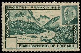 * OCEANIE - Poste - 138a, Sans Indication De Valeur: Pétain - Unused Stamps