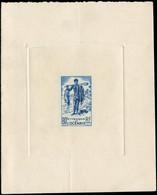 EPA OCEANIE - Poste - 187, épreuve D'artiste En Bleu: Pêcheur Et Poissons - Unused Stamps