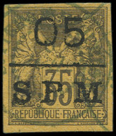 O SAINT PIERRE & MIQUELON - Poste - 9, Signé Scheller: 05c. S. 35c. - Used Stamps