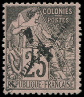 """(*) SAINT PIERRE & MIQUELON - Poste - 47, Sans Le """"-"""" Après """"ST"""": 4 S. 25c. Noir S. Rose - Neufs"""