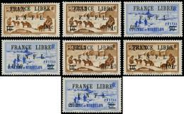 ** SAINT PIERRE & MIQUELON - Poste - 274/80, Complet, 277 + 279/80 Signés Calves - Neufs