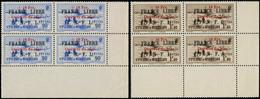 ** SAINT PIERRE & MIQUELON - Poste - 311A/11B, Bloc De 4, Coin De Feuille: France Libre - Neufs