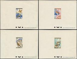 ** SAINT PIERRE & MIQUELON - Poste - 364/67, 4 épreuves De Luxe: Oiseaux (Maury) - Neufs