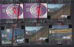 N ANDORRE ESPAGNOL - Télécartes - Collection De 27 Cartes Téléphones Neuves 1991/1994, Sous Blister - Sin Clasificación