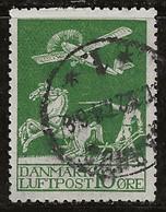 Danemark 1925-1930 N° Y&T :  PA1 Obl. - Aéreo