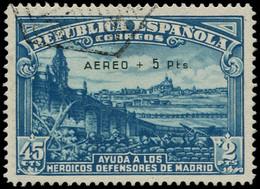 O ESPAGNE - Poste Aérienne - 193, Signé Roumet - Usados