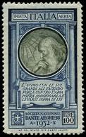 ** ITALIE - Poste Aérienne - 37A, Léonard De Vinci (Sas. 41) - Airmail