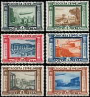 * ITALIE - Poste Aérienne - 42/47, Complet: Zeppelin (Sas. A 45/50) - Airmail