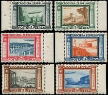 ** ITALIE - Poste Aérienne - 42/47, Complet: Zeppelin (Sas. A 45/50) - Airmail