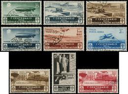 O ITALIE - Poste Aérienne - 69/77, Complet (Sas. 74/82) - Airmail