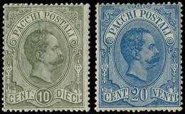 * ITALIE - Colis Postaux - 1/2, Humbert 1er (Sas. 1/2) - Paketmarken