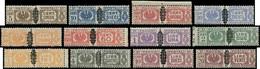 ** ITALIE - Colis Postaux - 34/45, Complet (Sas. 48/59) - Paketmarken
