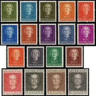 * PAYS BAS - Poste - 512A/27, Complet 18 Valeurs: Reine Juliana - Unused Stamps