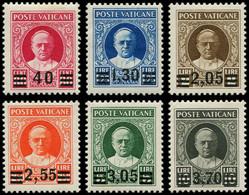 * VATICAN - Poste - 60/65, Complet: Provisoire - Unused Stamps