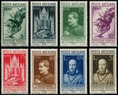 ** VATICAN - Poste - 72/79, Complet: Presse Catholique - Unused Stamps
