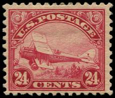 * ETATS UNIS - Poste Aérienne - 6, 24c. Rouge - Sin Clasificación