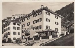 SWITZERLAND-SCHWEIZ-SUISSE-SVIZZERA-ZILLIS-GASTHAUS ZUR ALTEN POST-CARTOLINA  VERA FOTOGRAFIA VIAGGIATA IL 5-10-1938 - GR Grisons
