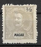 Portugal (Macau) 1898 – D. Carlos -  Macao - Afinsa 78 - Unused Stamps