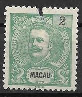 Portugal (Macau) 1898 – D. Carlos -  Macao - Afinsa 79 - Unused Stamps