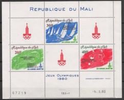 Mali - 1980 - Poste Aérienne PA N°Yv. 399A - Olympics / Moscou 80 - Neuf Luxe ** / MNH / Postfrisch - Mali (1959-...)