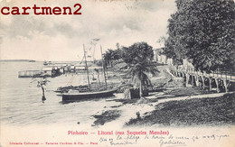 BRAZIL PINHEIRO LITORAL RUA SEQUEIRA MENDES TAVARES CARDOSO PARA BRESIL BRASILIA 1900 - Unclassified