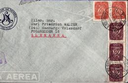 ! 1949 Brief Lamas Da Feira, Portugal Nach Hamburg Volksdorf, Britische Zensur, Censure, Censor - Covers & Documents