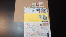 4 Cover Brazil (Fauna, Animal, Bird) - Lettres & Documents