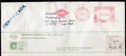 Argentina - 1988 - Lettre - Cachet Spécial - Affranchissement Mécanique - Grerardo Ramon & Cia - GRAMON - A1RR2 - Lettres & Documents
