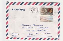 ISRAEL :Correspondance PAR AVION+EXPRESS Pour La France Avec Tabs  N°1006+ N°1009 - Cartas