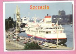 SZCZECIN Port, Harbour Passenger Ship FRONTIER SPIRIT, Bateau, Navire - Non Classificati