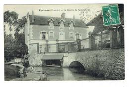28 EURE ET LOIR EPERNON Le Moulin De Savonnière Plan Peu Courant - Epernon