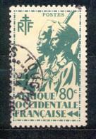 A.O.F. Afrique Occidentale Francaise - Französisch Westafrika 1945 - Michel Nr. 10 O - Oblitérés