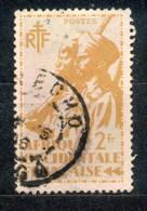A.O.F. Afrique Occidentale Francaise - Französisch Westafrika 1945 - Michel Nr. 14 O - Oblitérés