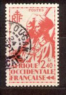 A.O.F. Afrique Occidentale Francaise - Französisch Westafrika 1945 - Michel Nr. 15 O - Oblitérés