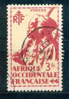 A.O.F. Afrique Occidentale Francaise - Französisch Westafrika 1945 - Michel Nr. 16 O - Oblitérés