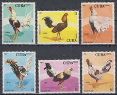 1981-CUBA-COCKS-LE COQ--MINT SET** - Neufs